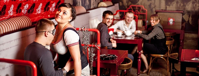 Мазох-cafe / Masoch-cafe is one of Orte, die Katharine gefallen.