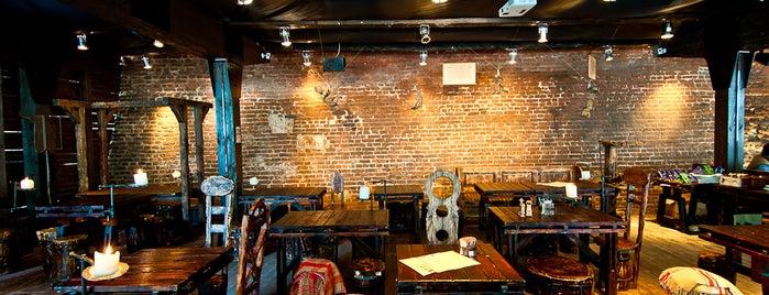 Перша львівська грильова ресторація м'яса та справедливості is one of Locais salvos de Александра.