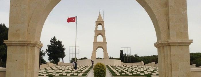 57. Piyade Alayı Şehitliği is one of Çanakkale.