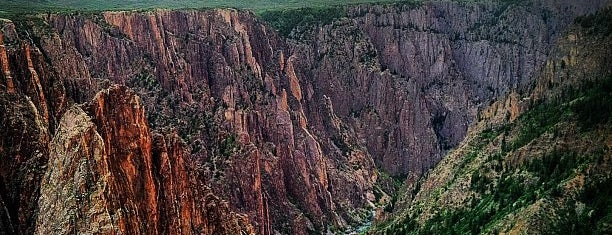 Black Canyon of the Gunnison National Park is one of National Recreation Areas.