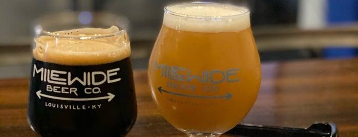 Mile Wide Beer Co. is one of Posti che sono piaciuti a Crispin.