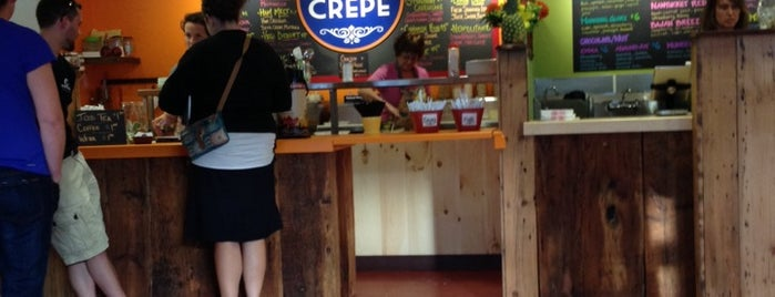 Cafe Crepe is one of Portland.