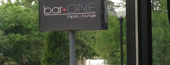 bar ONE Atlanta is one of Feed Me, Atlanta!!.