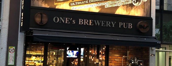 One's Brewery Pub is one of Craft Beer Osaka.