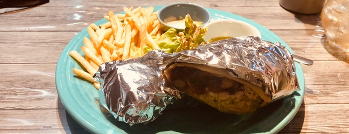 Hideout Burrito is one of Vegan Tokyo.