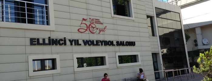 TVF | 50.Yıl Spor Salonu is one of Turkey NTV.