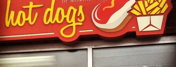 Decarie Hot-Dogs is one of **Montréal**.