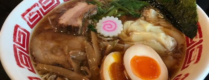 しあわせ中華そば食堂にこり is one of ラーメン☆つけ麺.