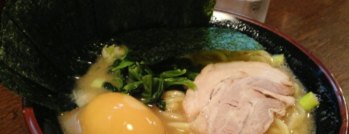 濃厚豚骨ラーメン 濱虎家 is one of ラーメン☆つけ麺.