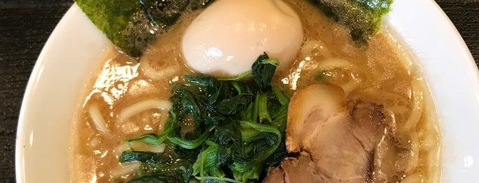 濱辰家 is one of ラーメン☆つけ麺.