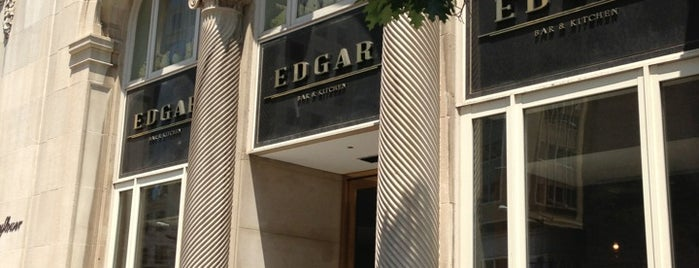 Edgar Bar and Kitchen is one of Locais curtidos por James.