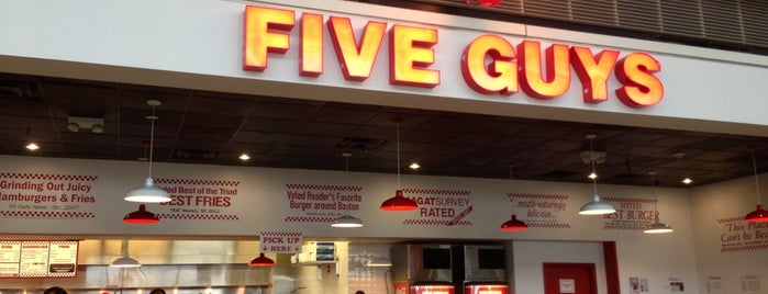 Five Guys is one of the world's best restaurants.