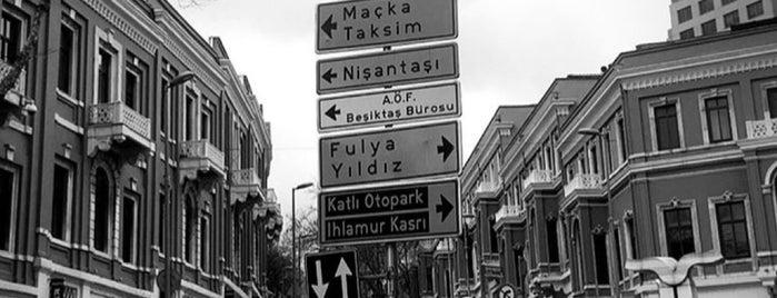 Beyond Akaretler is one of Taksim Meydani.
