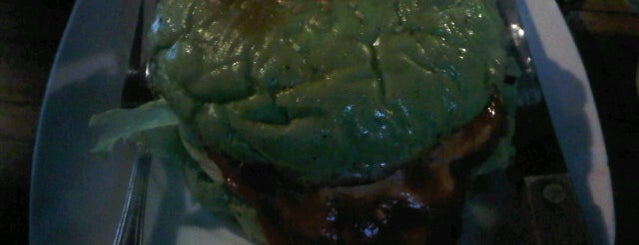 BURGER BAKAR IJO is one of What happens when food-addict strikes in Bandung.