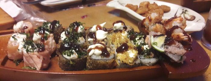 Okay Sushi is one of Tempat yang Disukai Giovana.