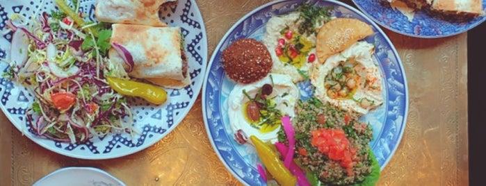 Comptoir Libanais is one of Gluten free London.