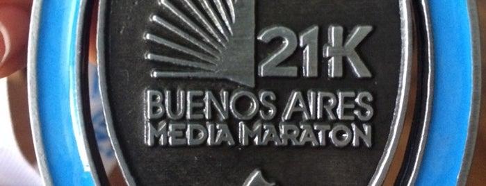 Maratón de Buenos Aires is one of Tempat yang Disukai Ezequiel.