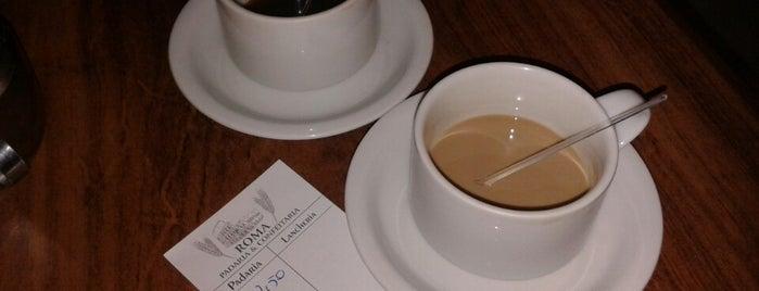 Padaria & Confeitaria Roma is one of Coffee & Tea.