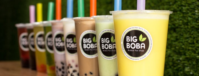 Big Boba Bubble Tea Shop is one of Santiago.