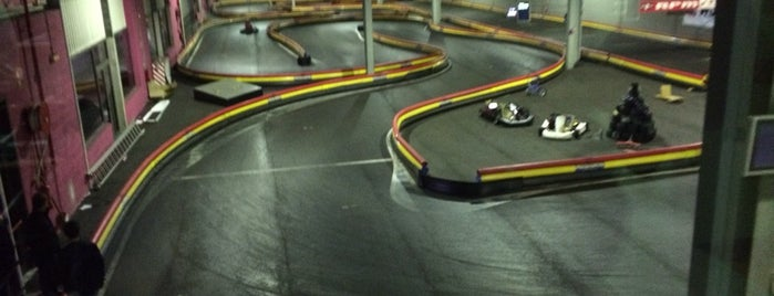 Indoor Karting Famalicão is one of Posti che sono piaciuti a Riey.