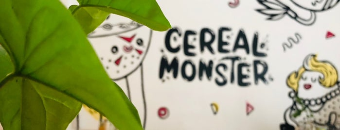 Cereal Monster is one of VIAJES 2.