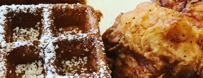 Connie's Chicken and Waffles is one of Do: Baltimore ☑️.