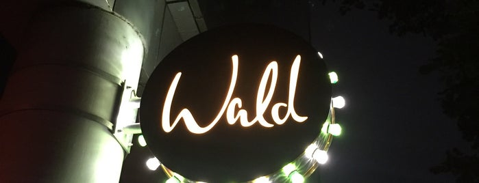 Wald is one of HAM × Clubs × Bars.