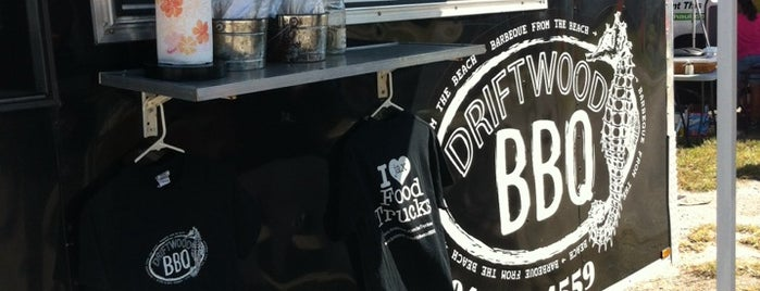 Driftwood BBQ food truck is one of Mark 님이 좋아한 장소.