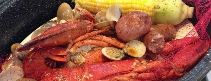 Joe's Crab Shack is one of Posti che sono piaciuti a Ashley.