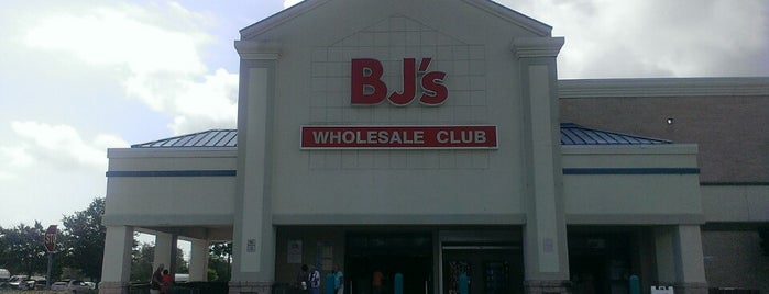 BJ's Wholesale Club is one of Trips south.
