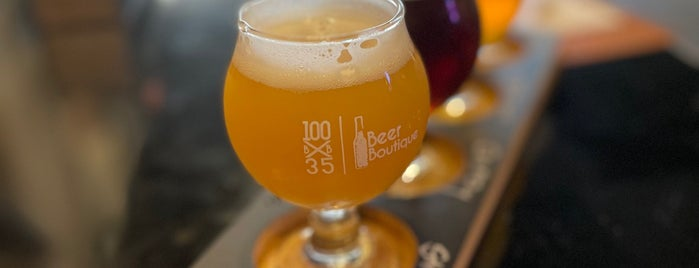100 X 35 Beer Boutique is one of Barras PR.