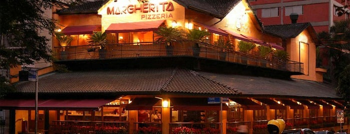 Margherita Pizzeria is one of Comer E Beber Em Sampa.