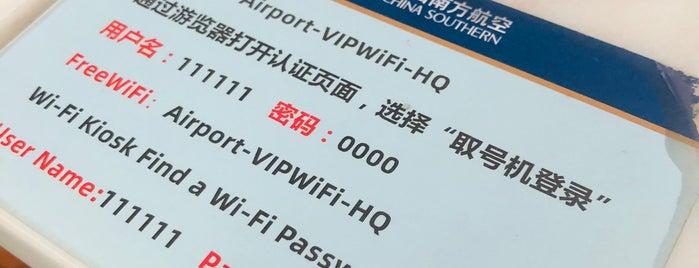 V6 VIP Lounge China Southern is one of Lugares favoritos de Ladybug.