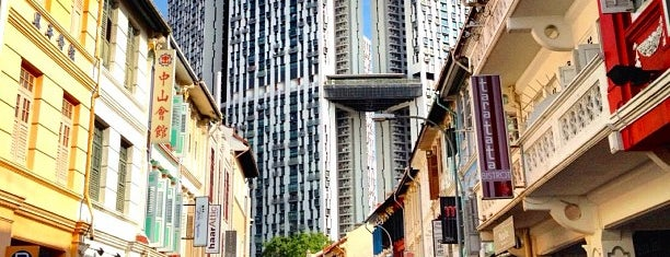 Keong Saik Road is one of Singapore.