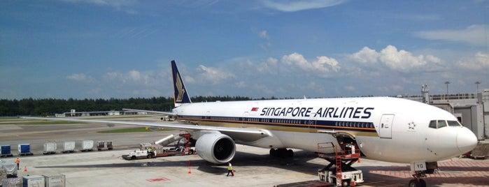 シンガポール チャンギ国際空港 (SIN) is one of My Singapore & JB Holiday.