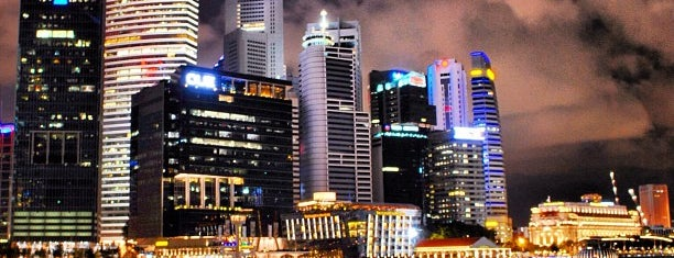 Marina Bay Downtown Area (MBDA) is one of Singapore достопримечательности.