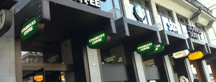 Starbucks is one of Zurich Places To Visit.
