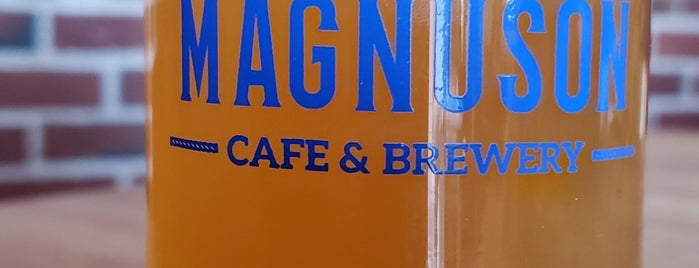 Magnuson Cafe & Brewery is one of Seattle.