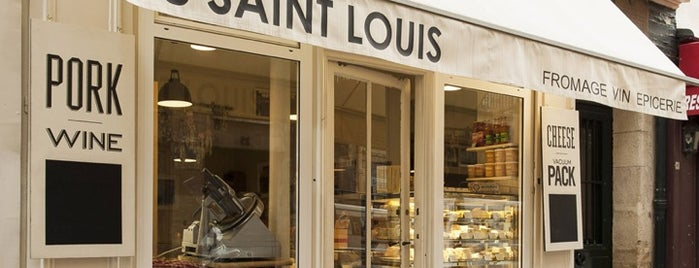 38 Saint Louis is one of Paris to eat.