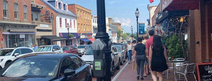 Historic Downtown Annapolis is one of Arthur's places to visit.
