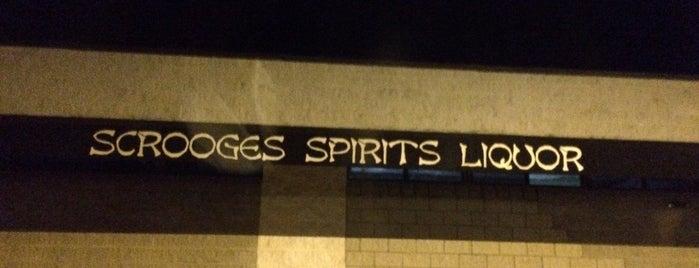 Scrooges Liquor Store is one of Orte, die Tucker gefallen.