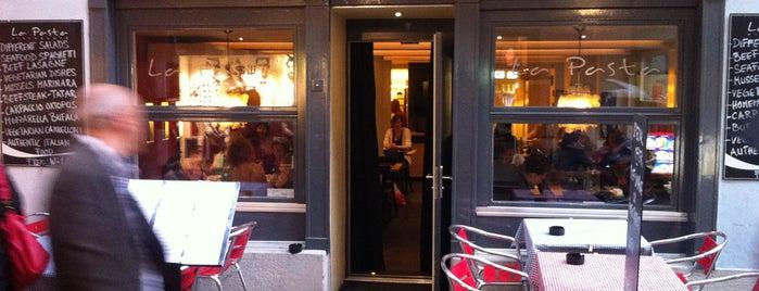 La Pasta is one of Restaurants Zurich.