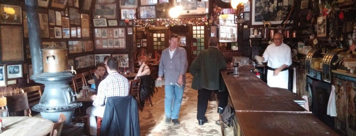 McSorley's Old Ale House is one of NYC, Lower East Side.
