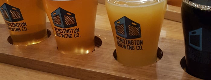 Kensington Brewing Company is one of Matt's Liked Places.