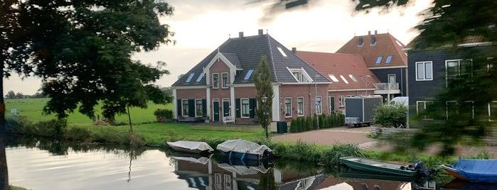 Volendam-Marken is one of Ams.