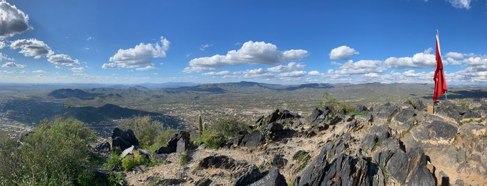 Top of Black Mountain is one of Phoenix.