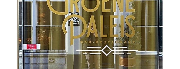 Het Groene Paleis is one of Brussles.