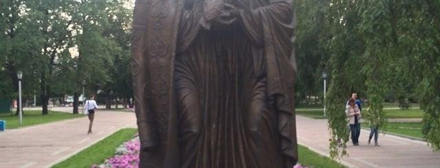 Памятник Петру и Февронии is one of Новосибирск / Novosibirsk.