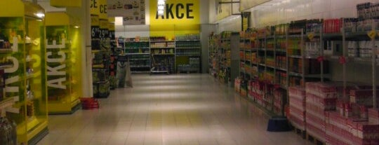 Albert hypermarket is one of Kde koupit - FIZZ cider.
