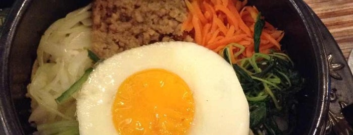 Mujigae Bibimbap & Casual Korean Food is one of Orte, die Albert gefallen.